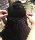 Обучение голливудскому наращиванию волос в Москве.
